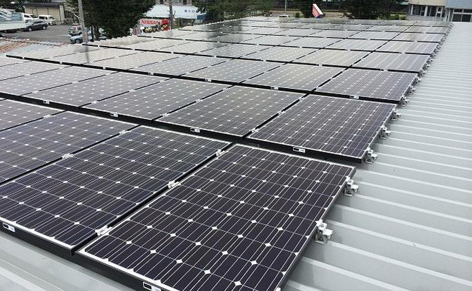 工場-折半屋根-30kW級